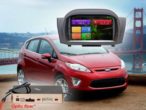 Штатная магнитола Redpower 31141 DVD IPS DSP ANDROID 7 Ford Fiesta