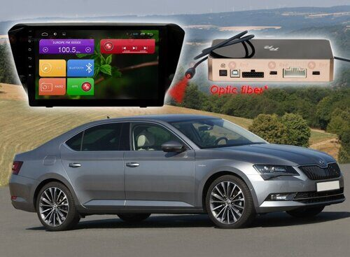 Штатная магнитола Redpower  31014 R IPS DSP ANDROID 7 Skoda Superb