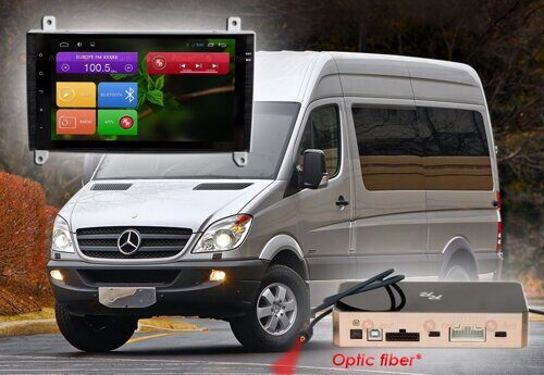 Штатная магнитола Redpower 31068 IPS DSP ANDROID 7 Mercedes Benz Vito, VW Crafter