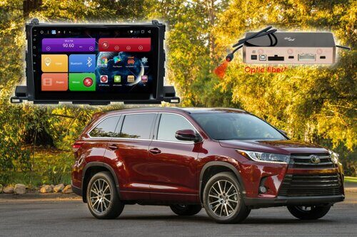 Автомагнитола для Toyota Highlander RedPower 51184 R IPS DSP ANDROID 8+