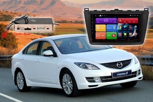Автомагнитола для Mazda 6 (2009-2012 гг.) RedPower 51002 R IPS DSP ANDROID 8+