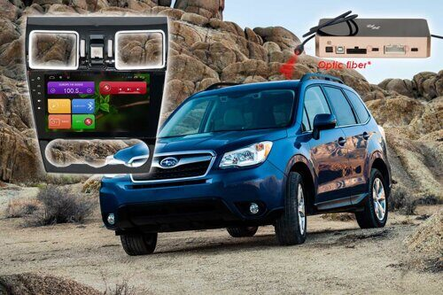 Штатная магнитола Redpower 31263 IPS ANDROID 7 Subaru Forester 2015-2016