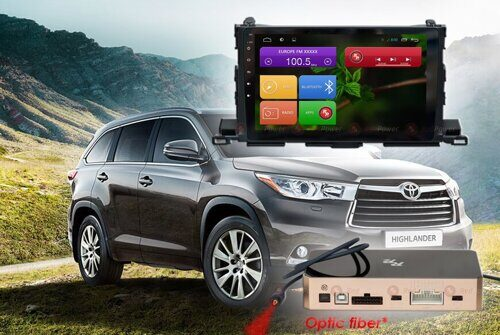 Штатная магнитола Redpower 31184 R IPS DSP ANDROID 7 Toyota Highlander