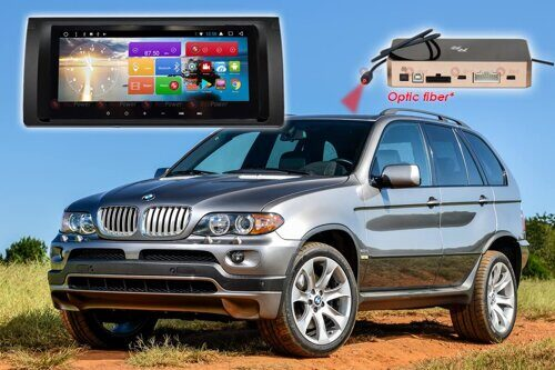 Магнитола для BMW X5 (кузов E53) RedPower 51083 IPS DSP ANDROID 8+