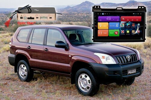 Автомагнитола для Toyota Land Cruiser Prado 120 RedPower 51182 R IPS DSP ANDROID 8+