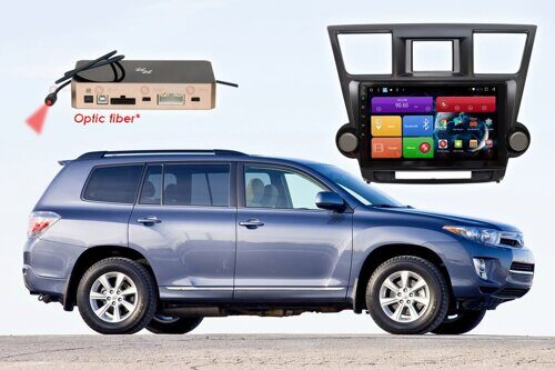 Автомагнитола для Toyota Highlander RedPower 51035 R IPS DSP ANDROID 8+
