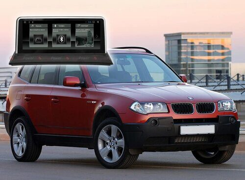 Штатная магнитола Redpower 31203 BMW X3 (2002-2010) Для авто без штатного монитора