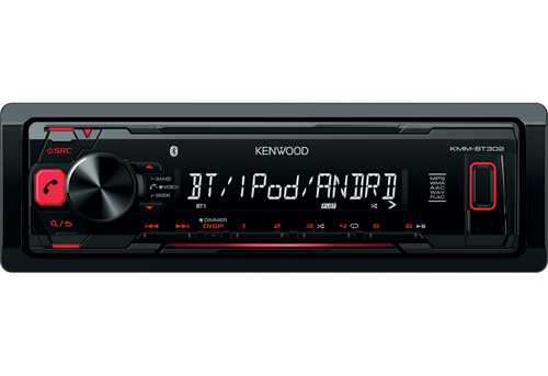 Автомагнитола Kenwood KMM-BT302