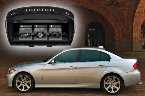 Штатная магнитола для BMW 5 серии E60, 3 серии E90/E93 RedPower 51087 IPS