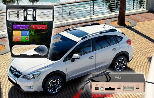 Штатная магнитола Redpower 31262 IPS DSP Subaru XV, Forester ANDROID 7