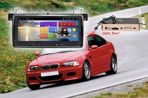 Магнитола для BMW 3 кузов E46 RedPower 51081 IPS DSP ANDROID 8+