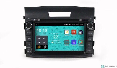 Штатная магнитола Parafar PF983D Honda Civic CR-V 4 2012-2016 на Android 7.1.1 (4G/LTE, DVD)