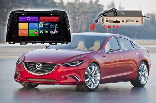 Автомагнитола для Mazda 6 (2012-2014 гг.) RedPower 51012 R IPS DSP ANDROID 8+